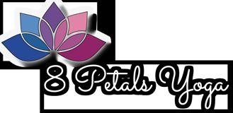 8 Petals Yoga Logo